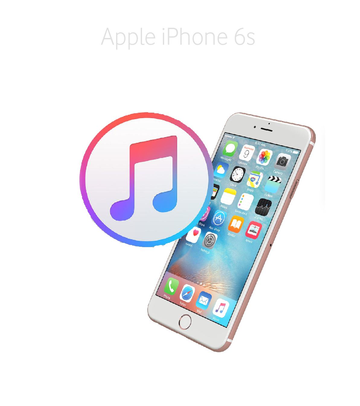 Mjukvara/Återställning iPhone 6s