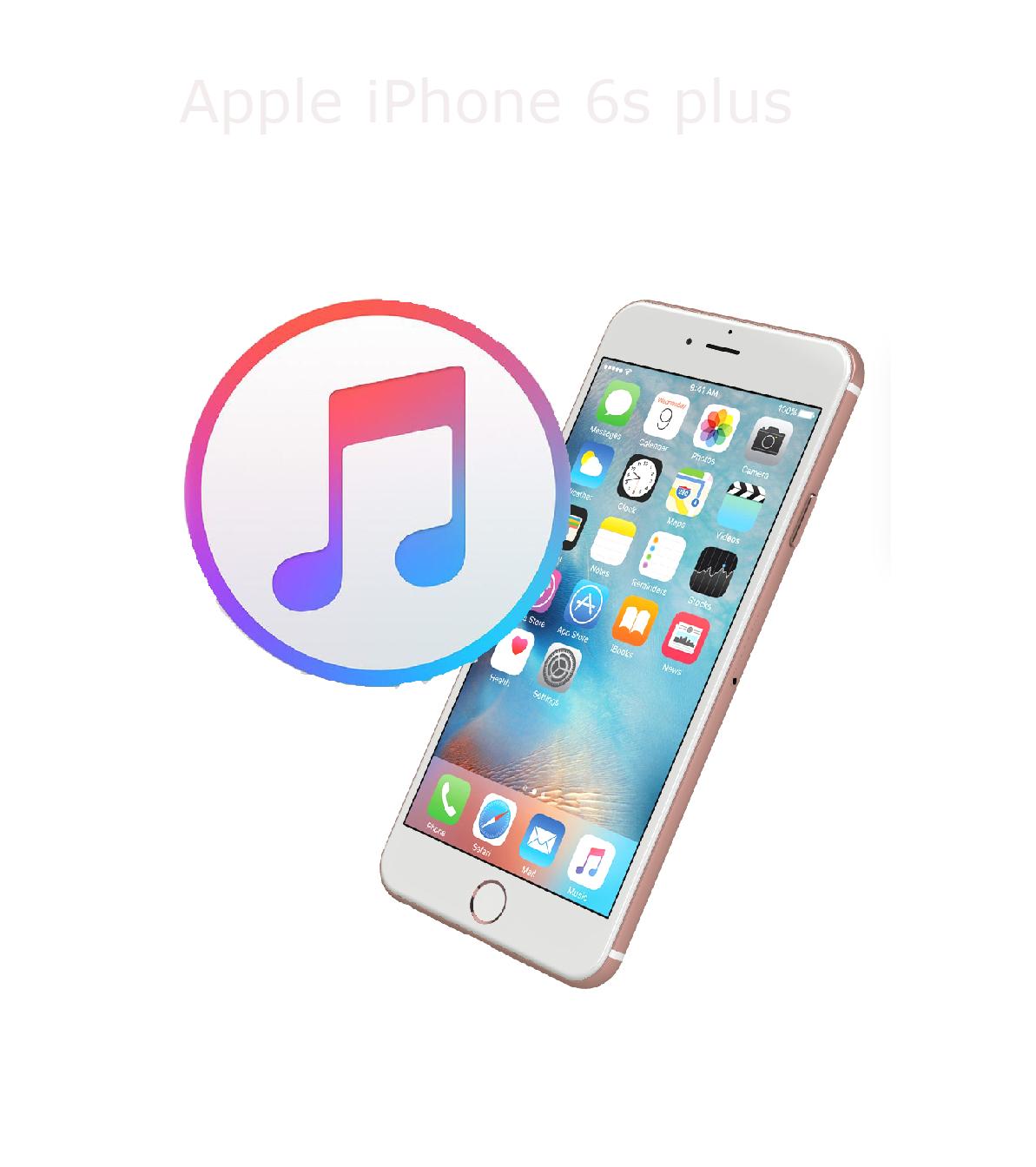 Mjukvara/Återställning iPhone 6s plus