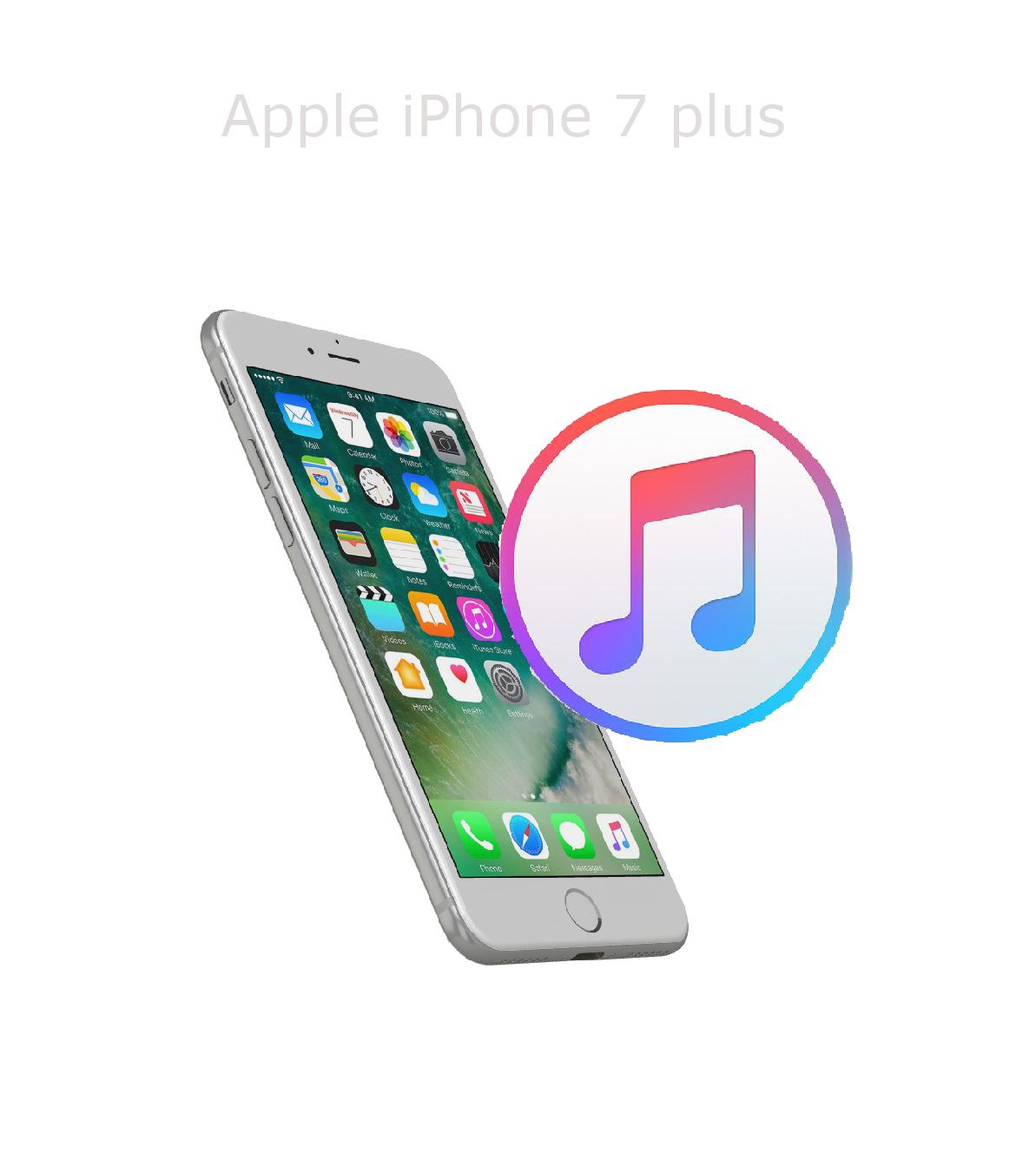 Mjukvara/Återställning iPhone 7 plus