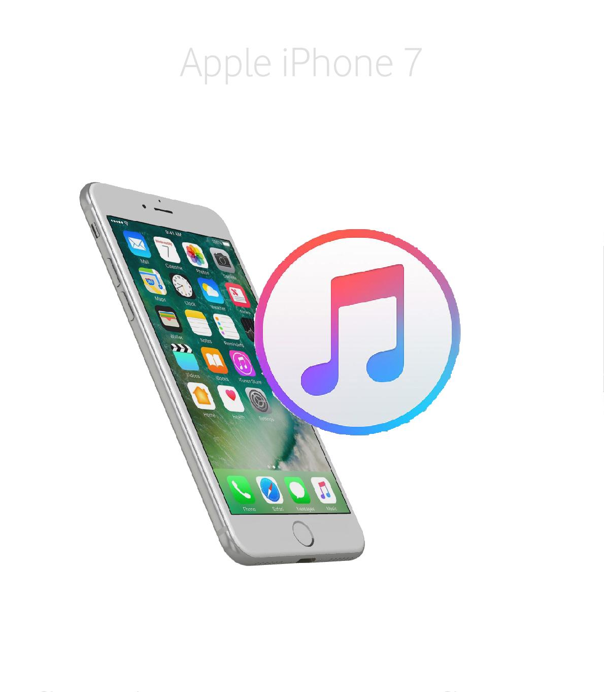 Mjukvara/Återställning iPhone 7