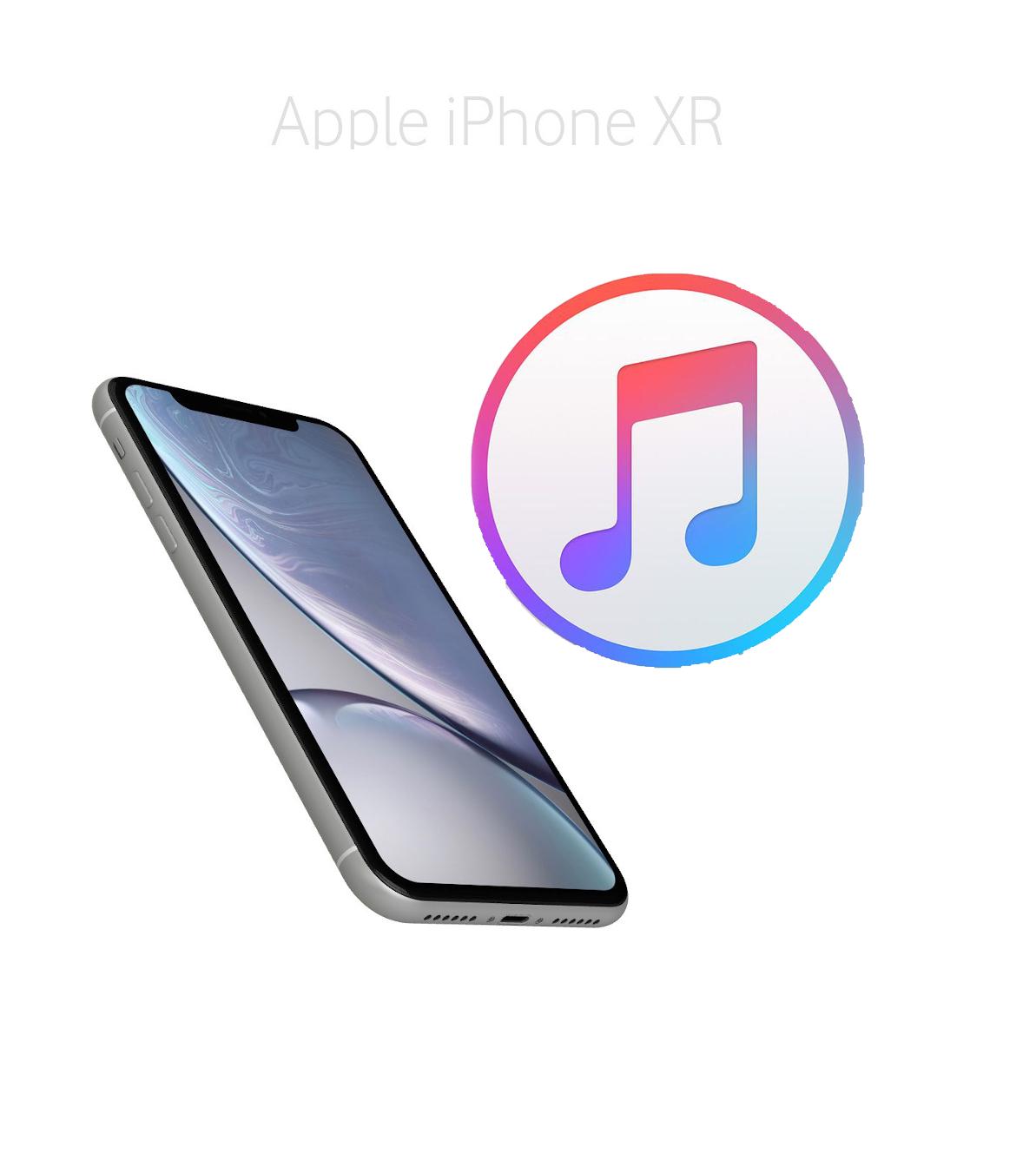 Mjukvara/Återställning iPhone XR