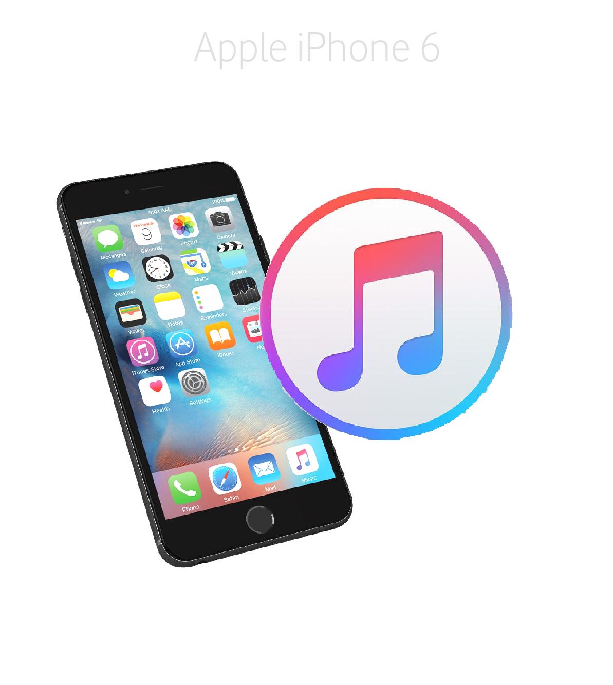 Mjukvara/Återställa iPhone 6