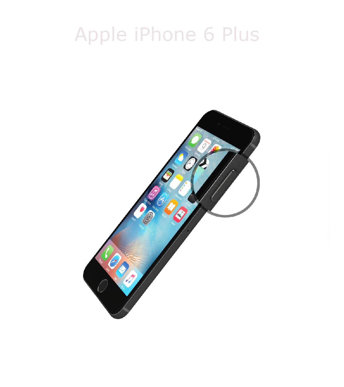 Laga powerknapp iPhone 6 plus