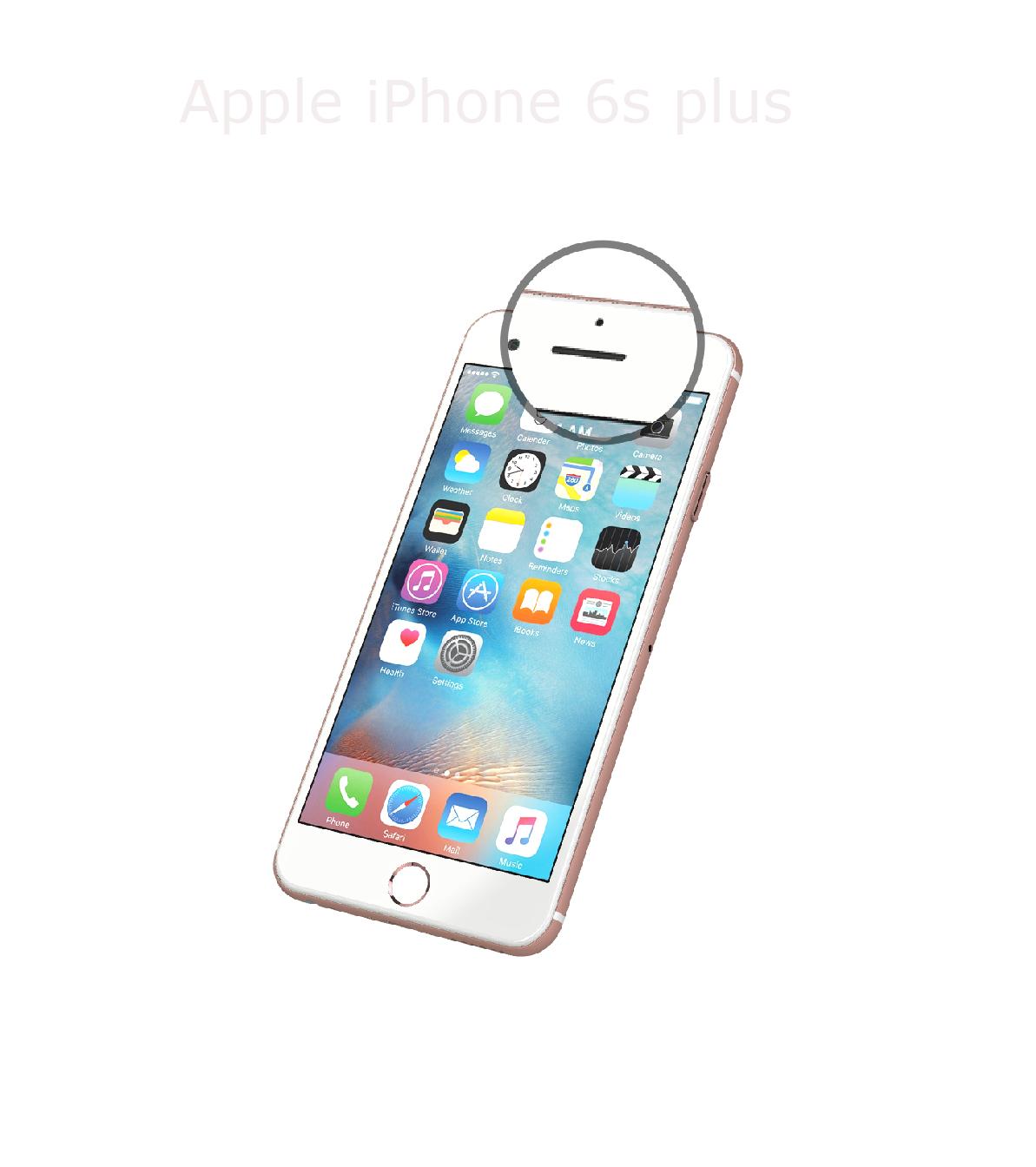 Laga samtalshögtalare iPhone 6s plus