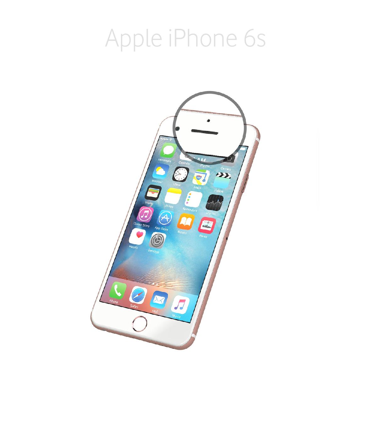 Laga samtalshögtalare iPhone 6s