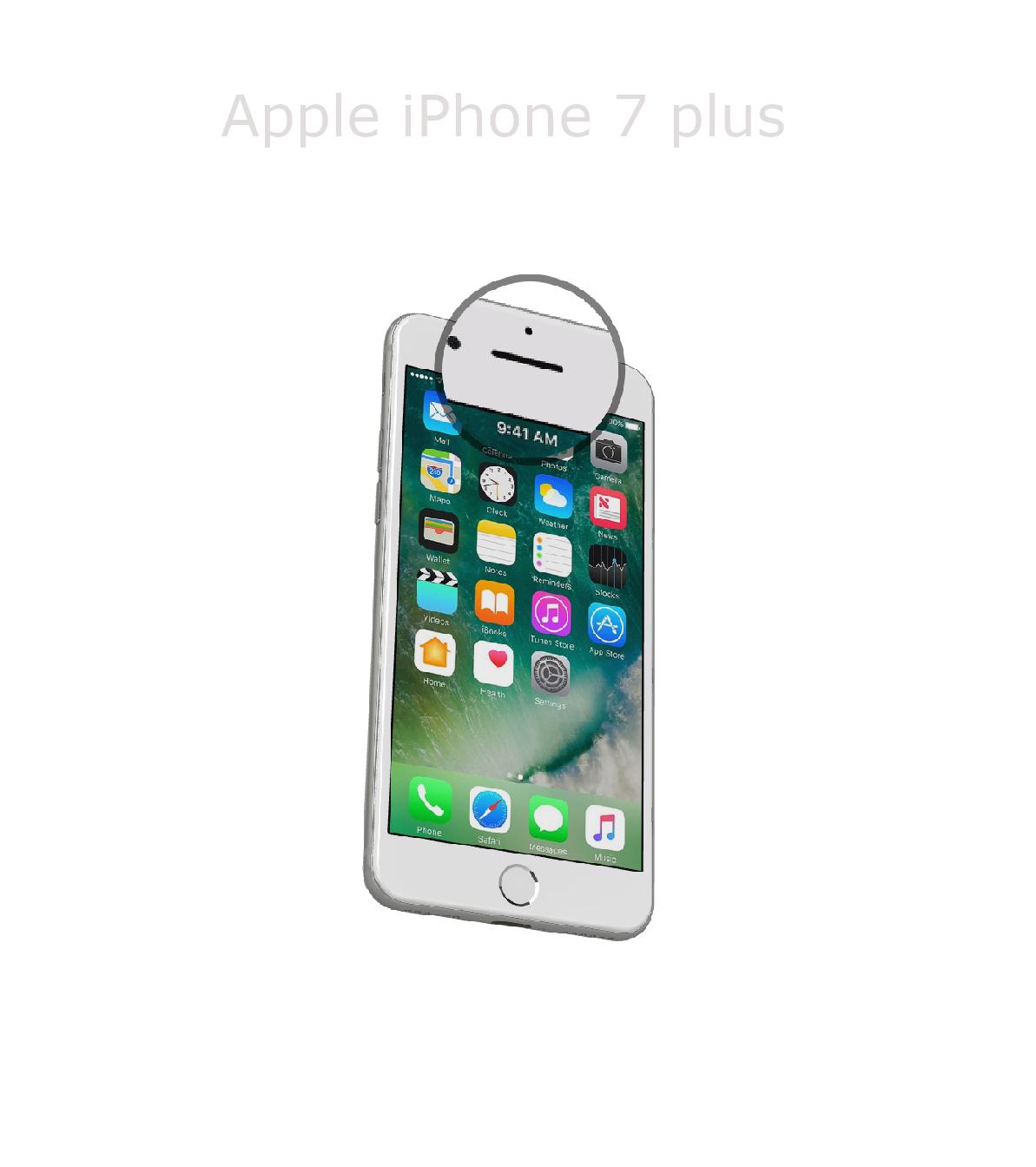 Laga samtalshögtalare iPhone 7 plus