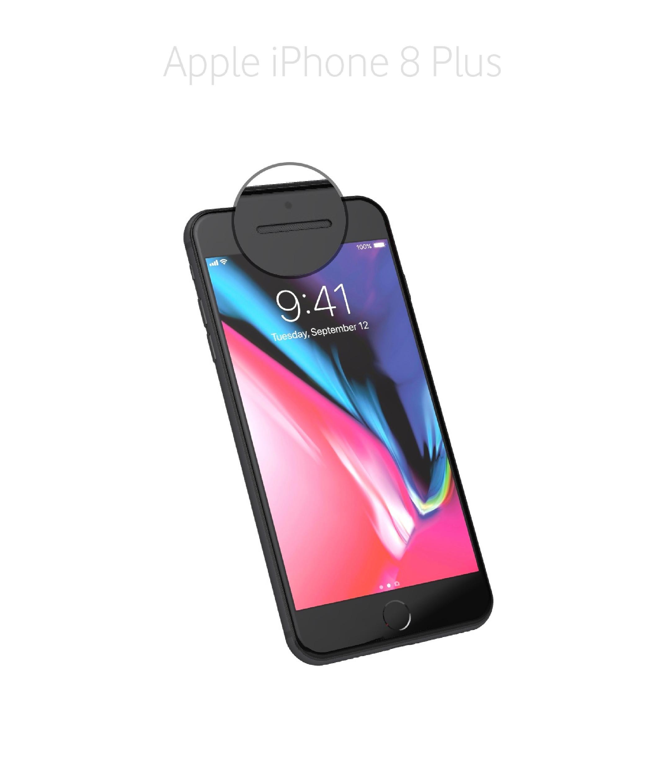Laga samtalshögtalare iPhone 8 plus
