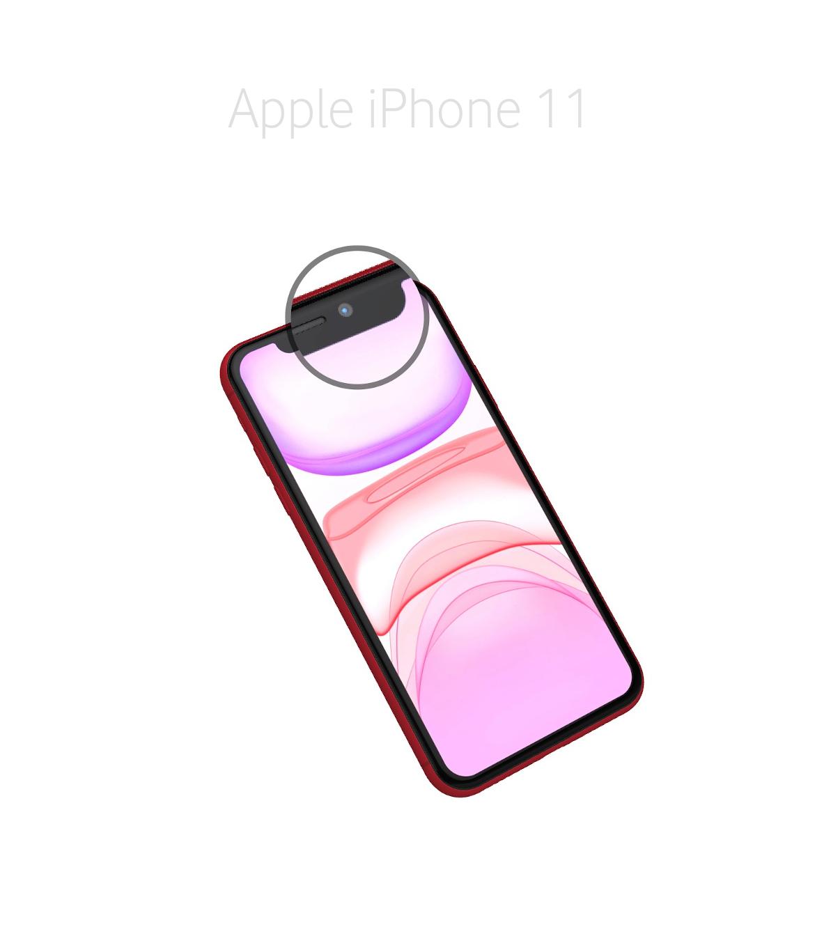 Laga kamera (selfie) iphone 11