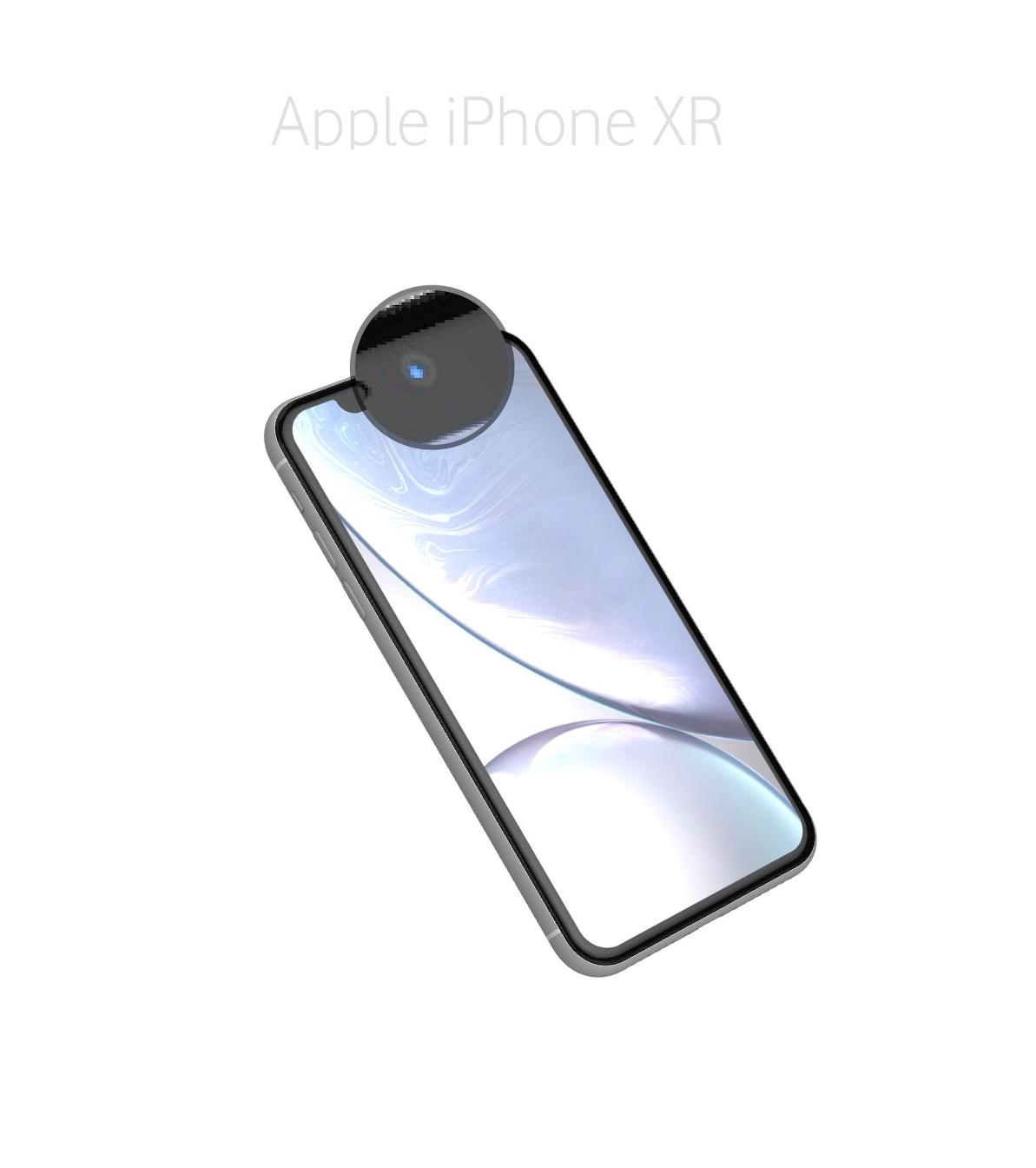 Laga kamera (selfie) iPhone XR