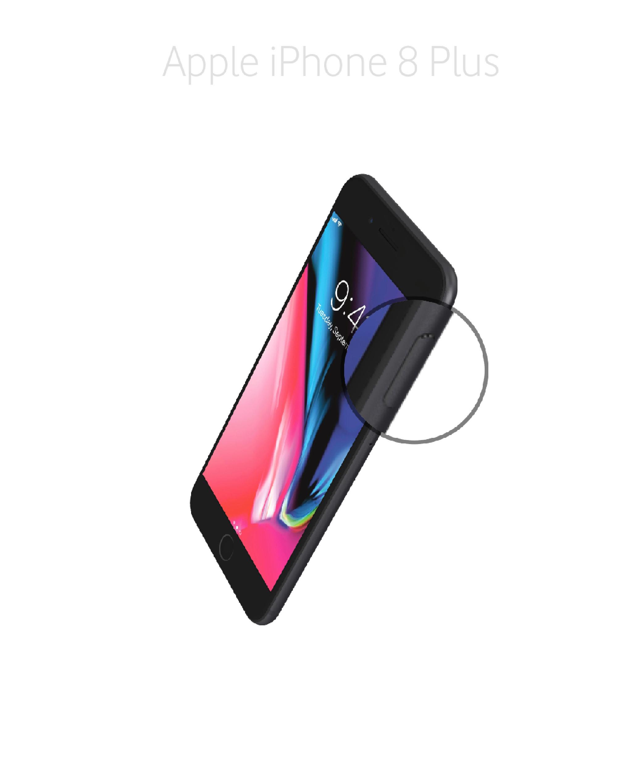 Laga onoffknapp iPhone 8 plus