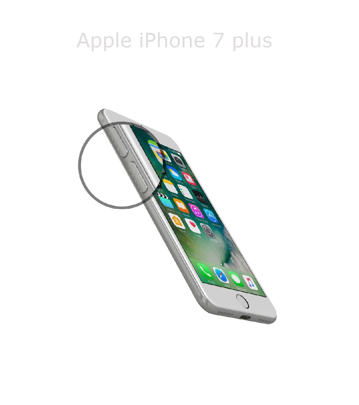 Laga volym/muteknapp iPhone 7 plus