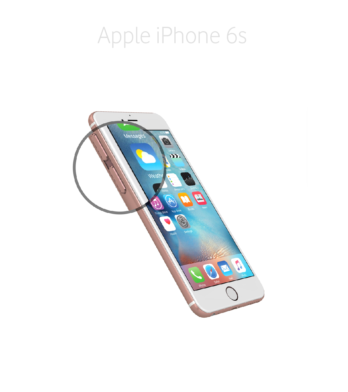 Laga volym/muteknapp iPhone 6s