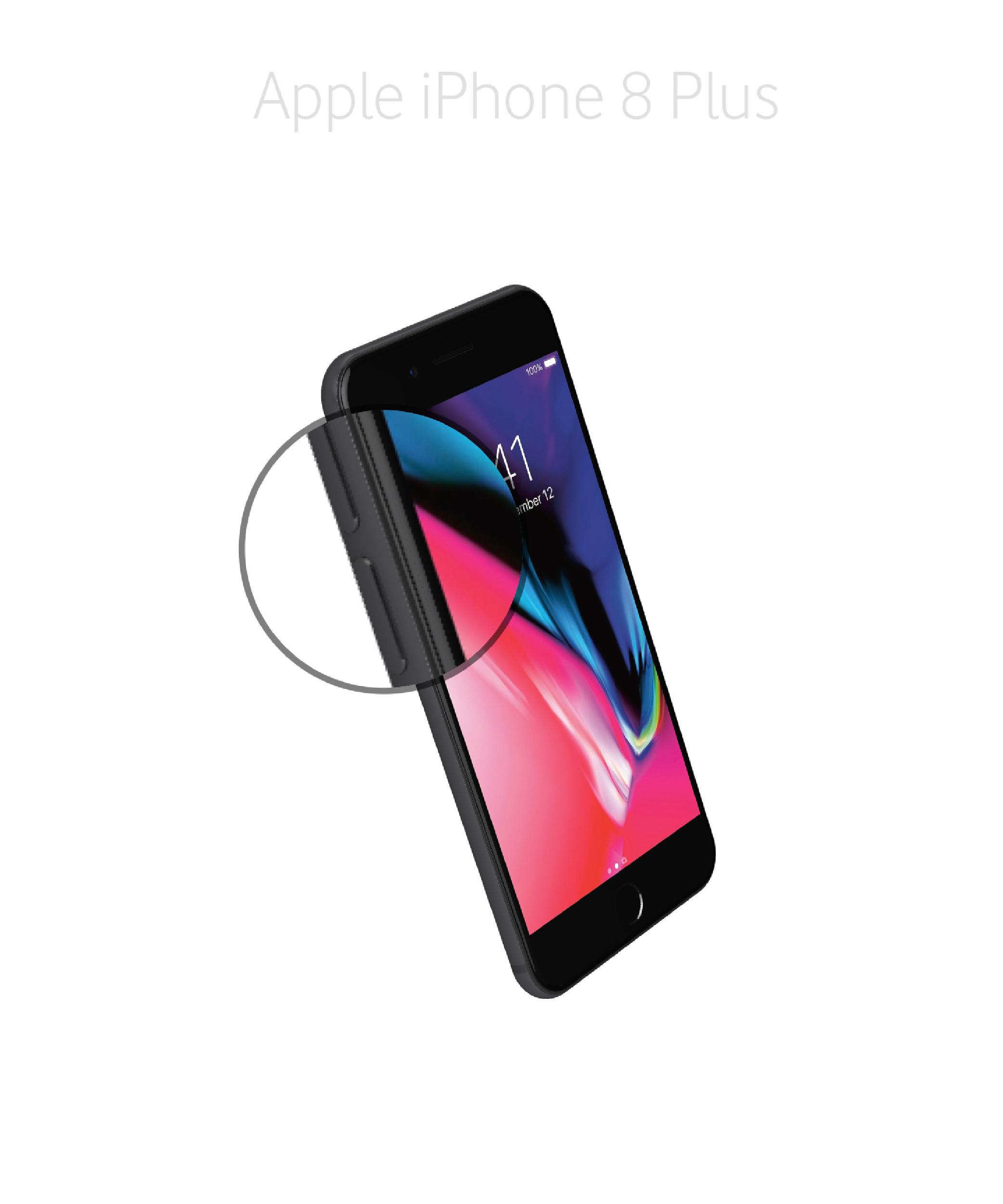 Laga volym/muteknapp iPhone 8 plus