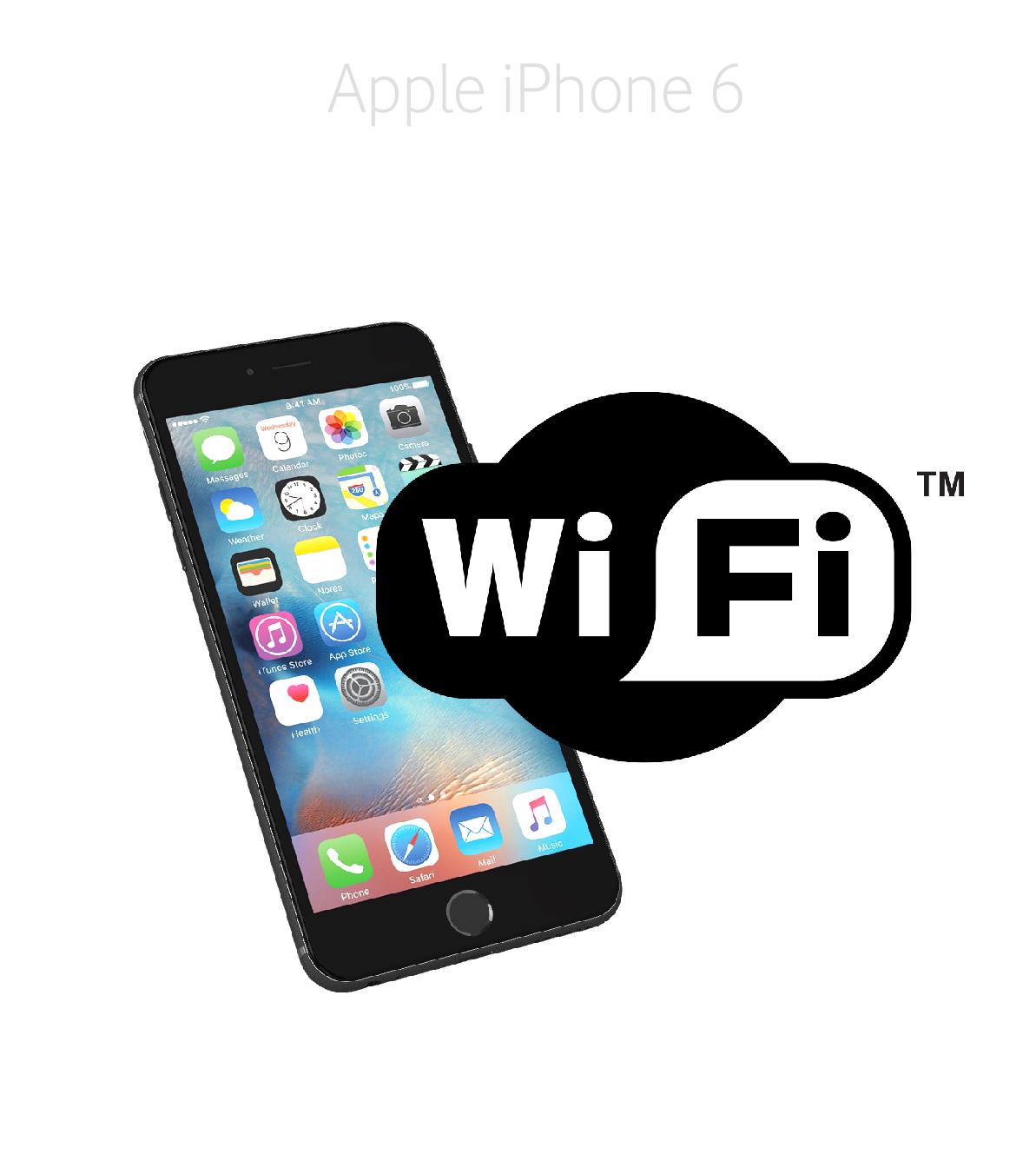 Laga wifi iPhone 6