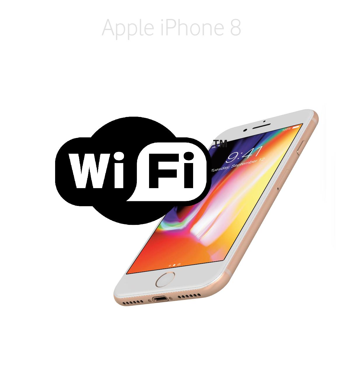 Laga Wifi iPhone 8