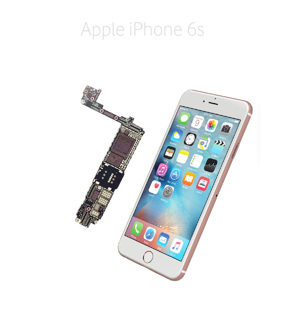 Avancerad lödning iPhone 6s