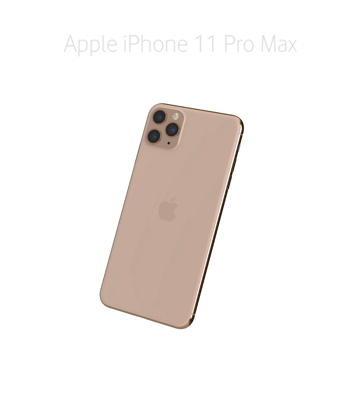 Laga glas/baksida iPhone 11 Pro Max