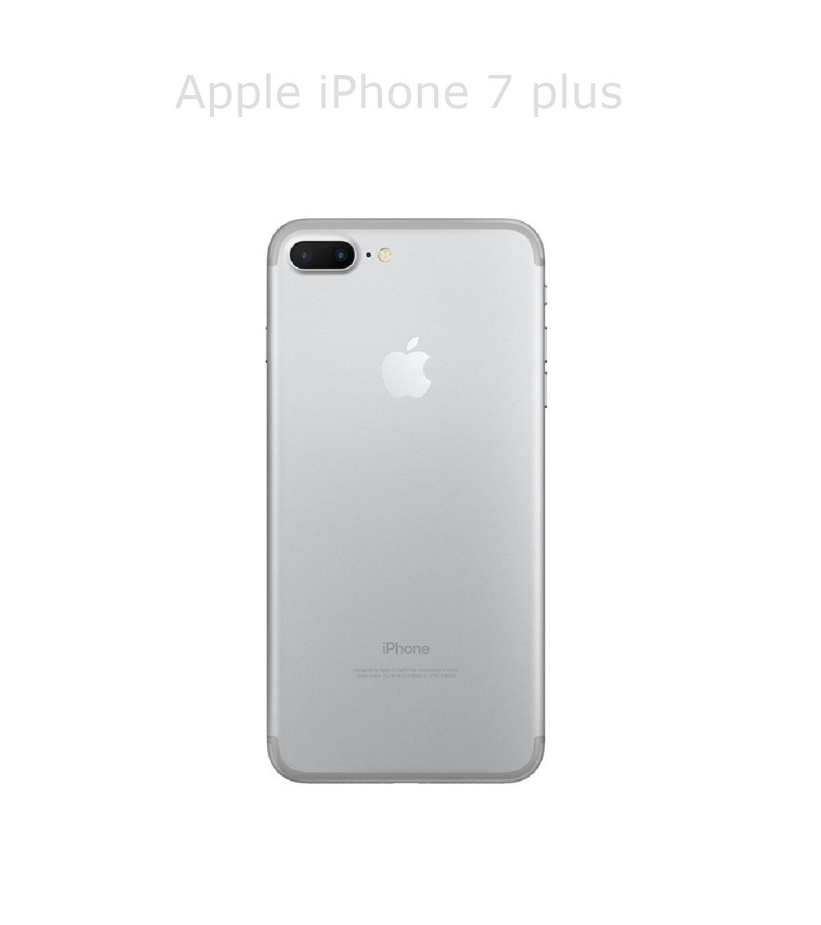 Laga baksida/chassi iPhone 7 plus