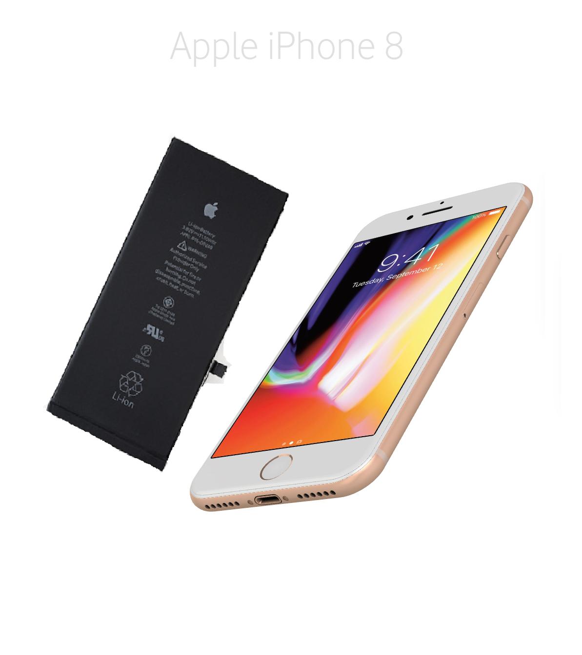 Byta batteri iPhone 8