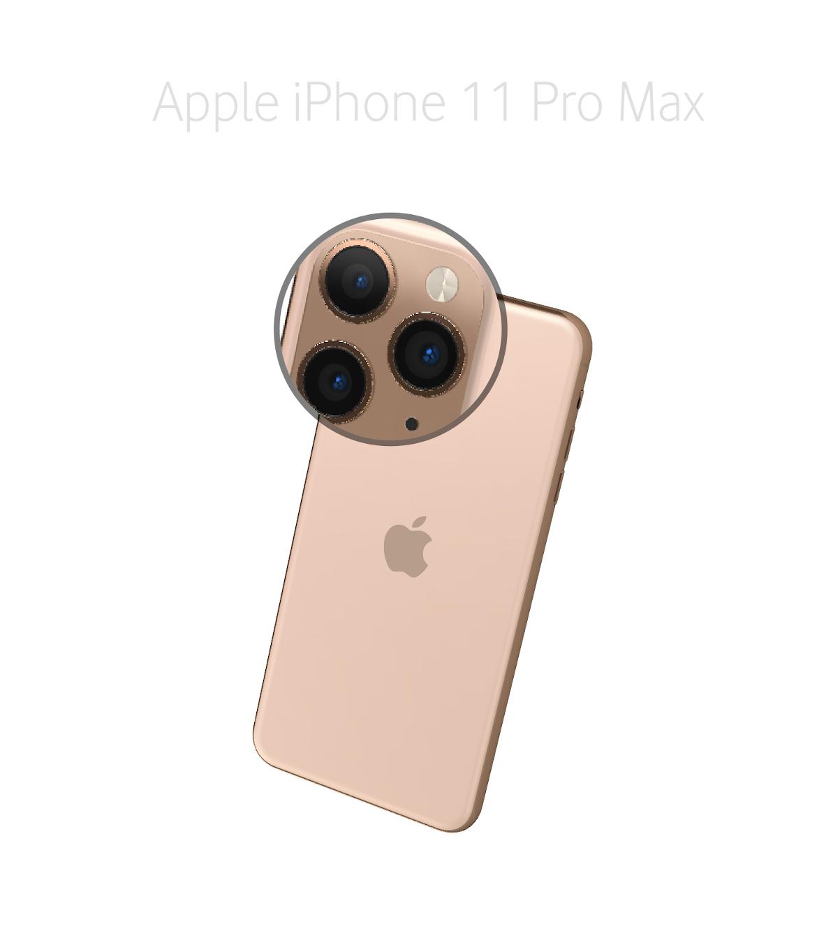 Laga mikrofon Kamera iPhone 11 Pro Max