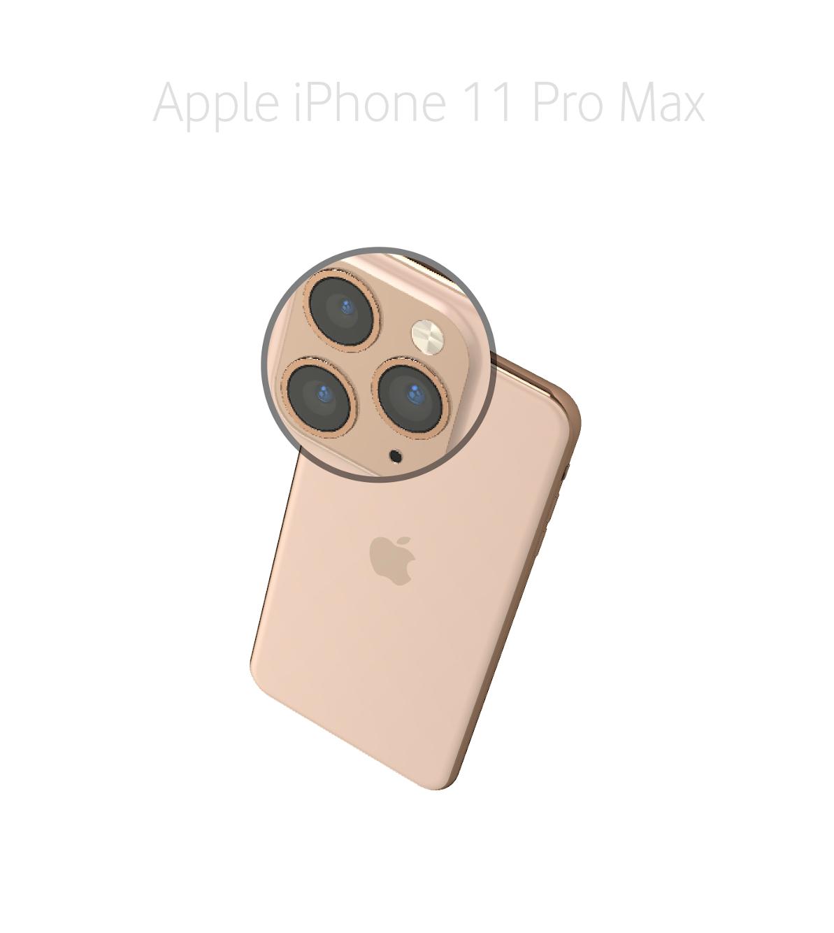 Laga kameralins iPhone 11 Pro Max