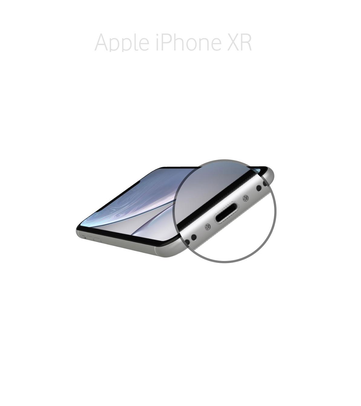 Laga lightningkontakt iPhone XR