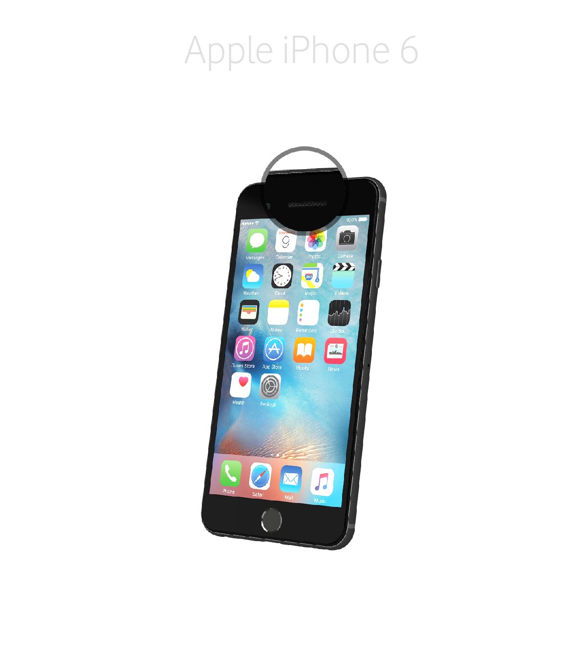 Laga frontkamera iPhone 6