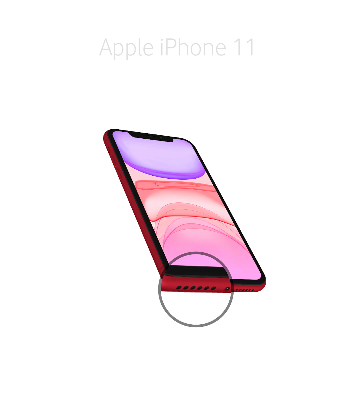 Laga mikrofon iPhone 11