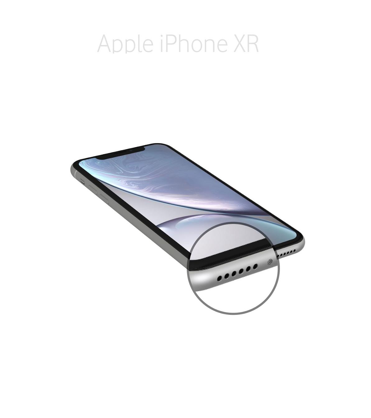 Laga samtalsmikrofon iPhone XR