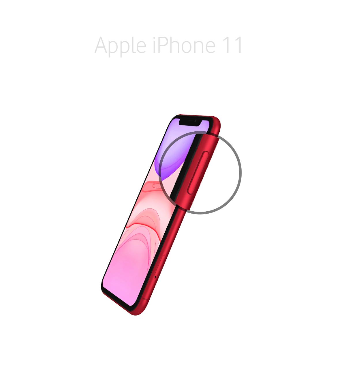 Laga onoff knapp iPhone 11