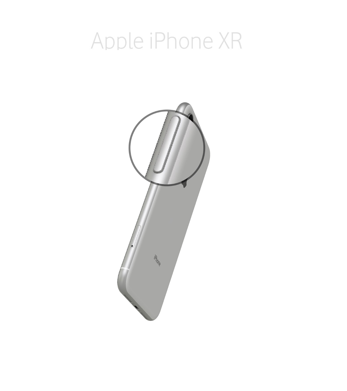 Laga onoff (sidoknapp) iPhone XR
