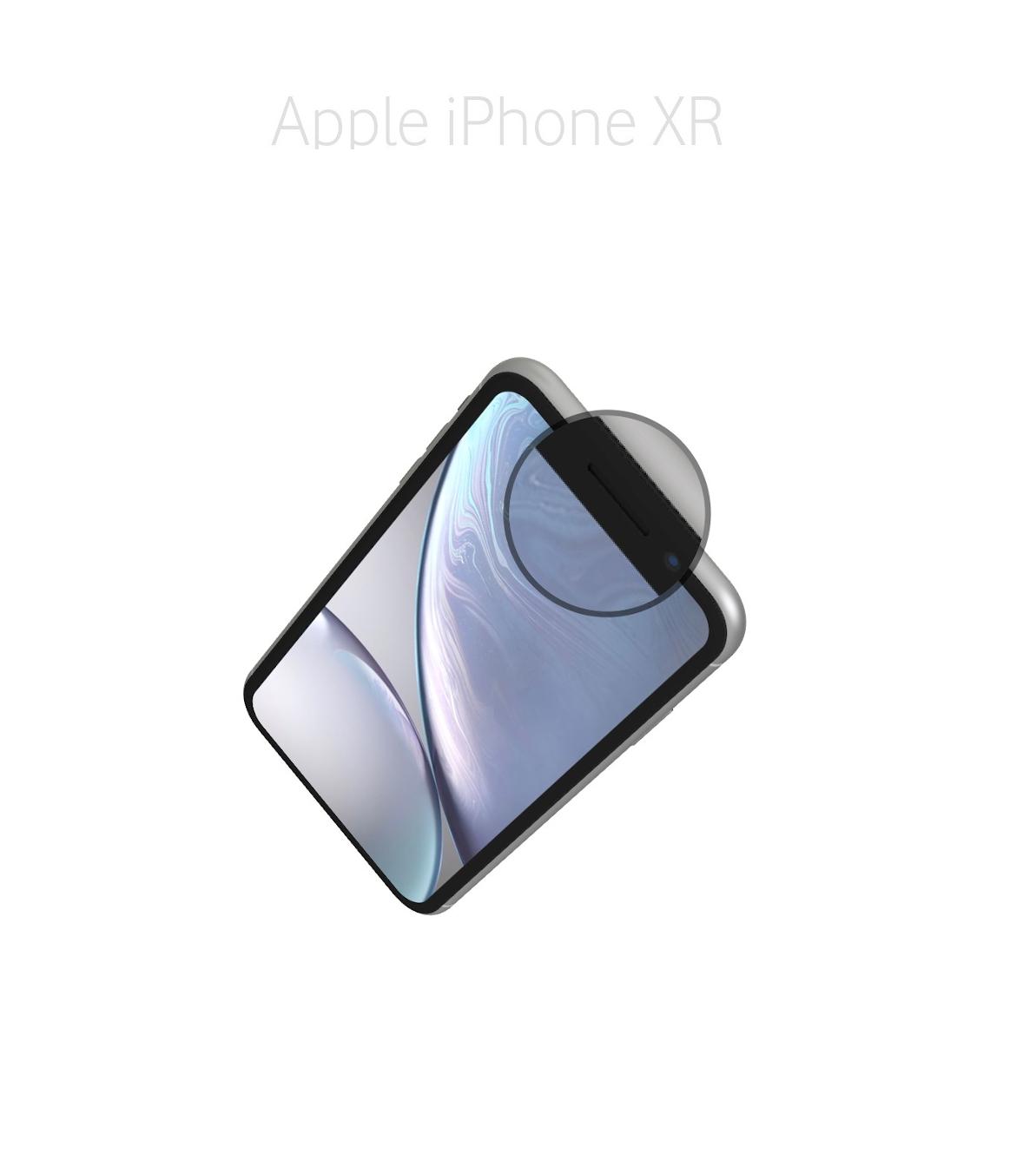 Laga samtalshögtalare iPhone XR