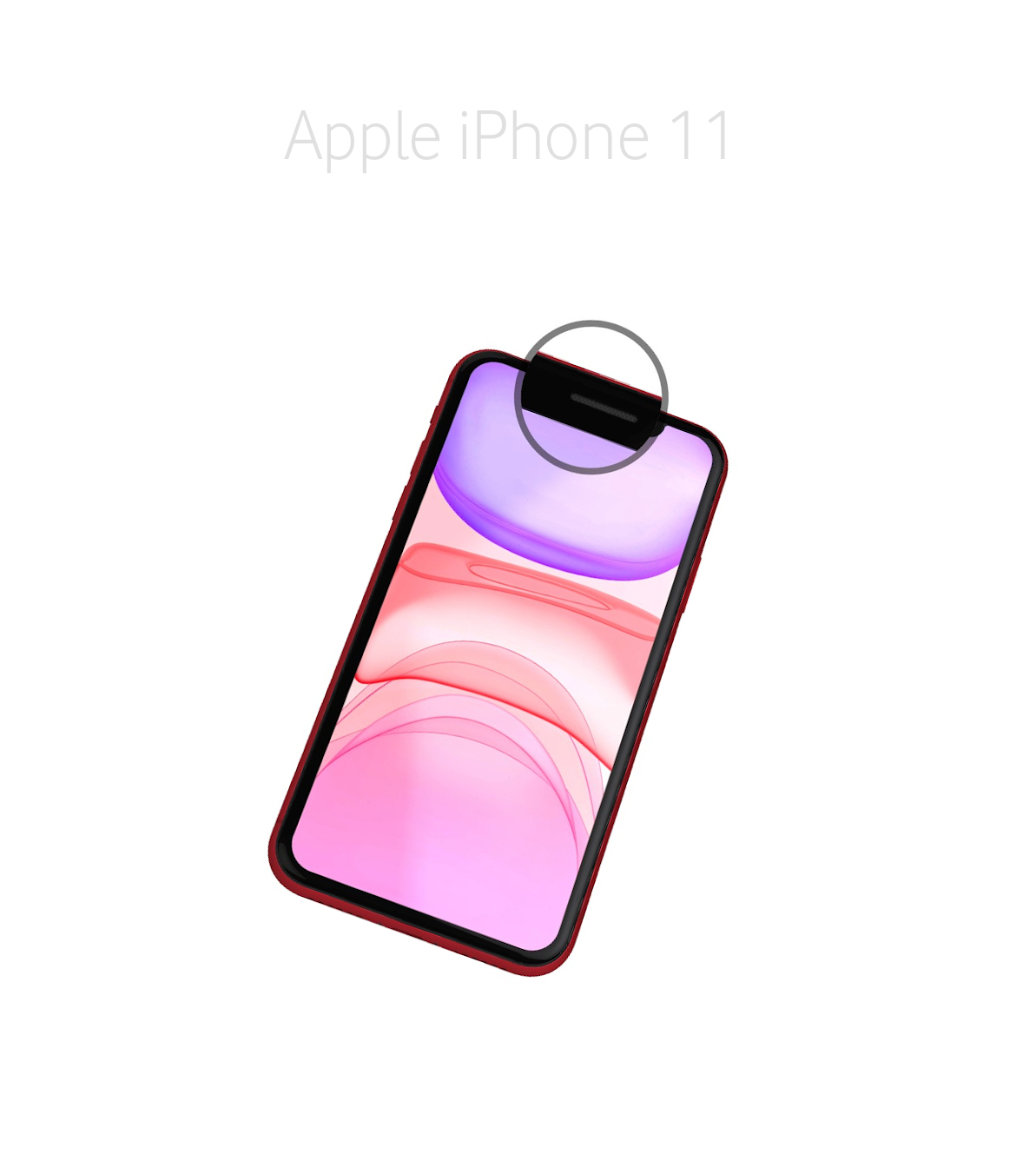 Laga samtalshögtalare iPhone 11