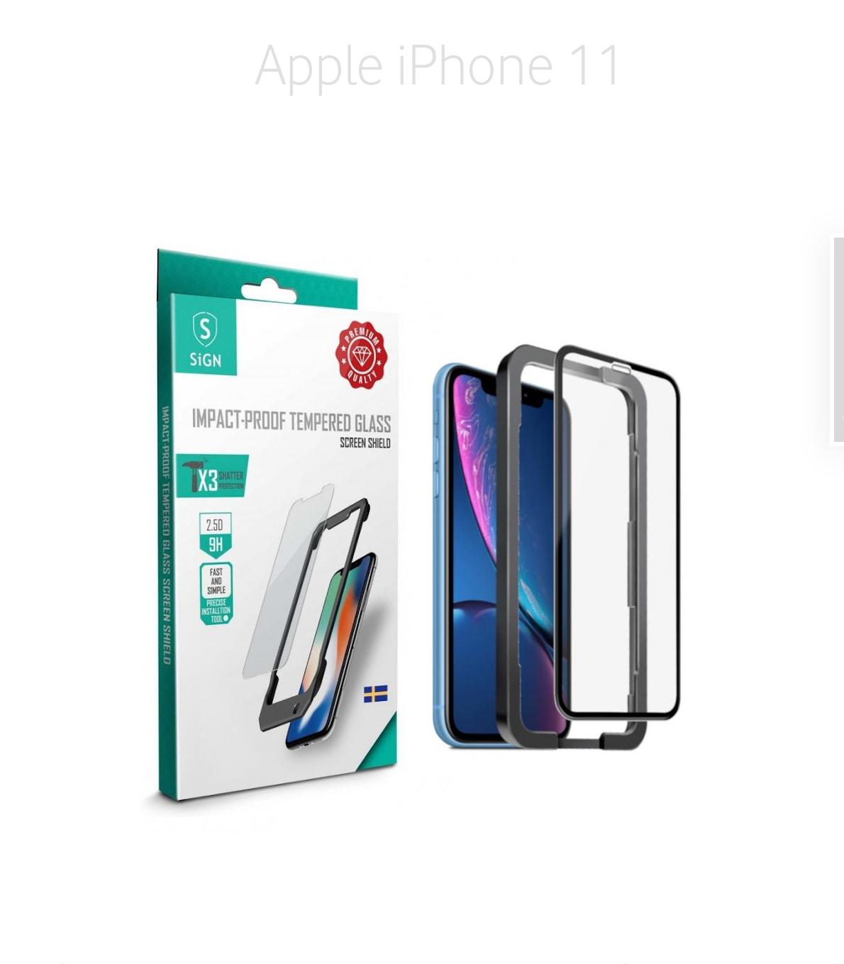 Skyddsglas iPhone 11