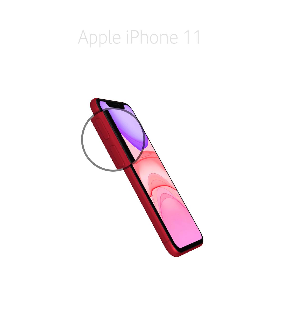 Laga volymknapp iPhone 11