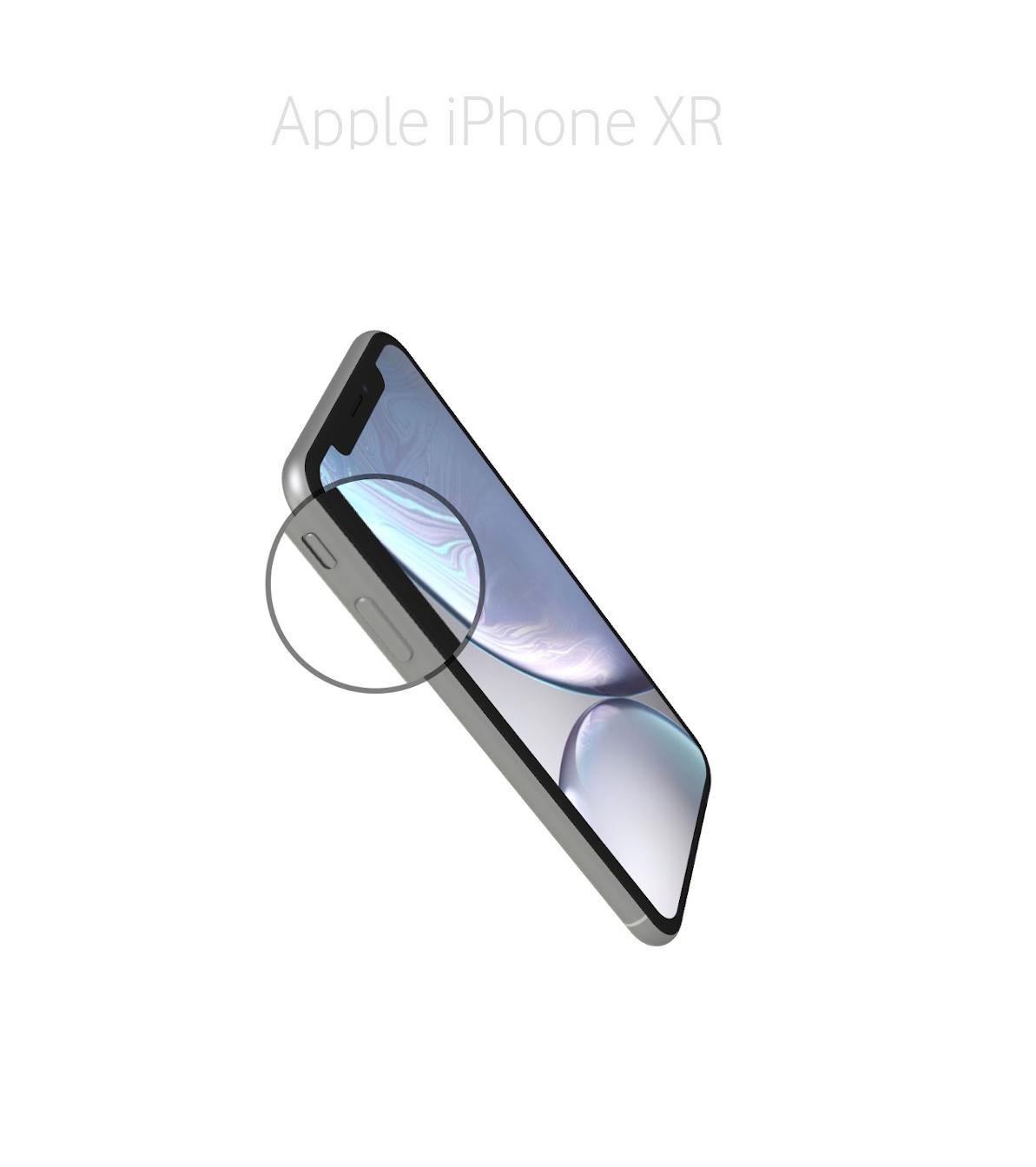 Laga volym/muteknapp iPhone XR