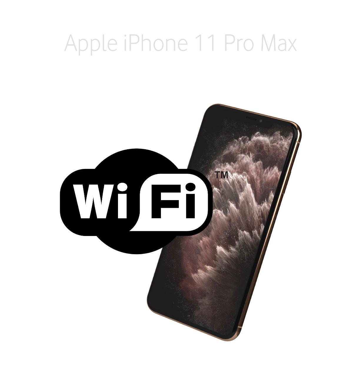 Laga wifi iPhone 11 Pro Max