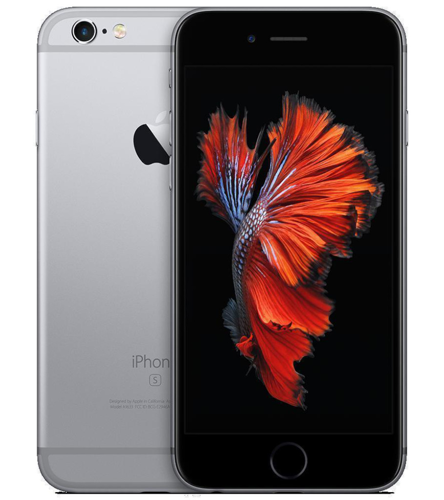 Begagnad iPhone 6s silver