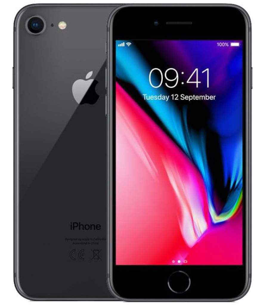 Begagnad iPhone 8 svart